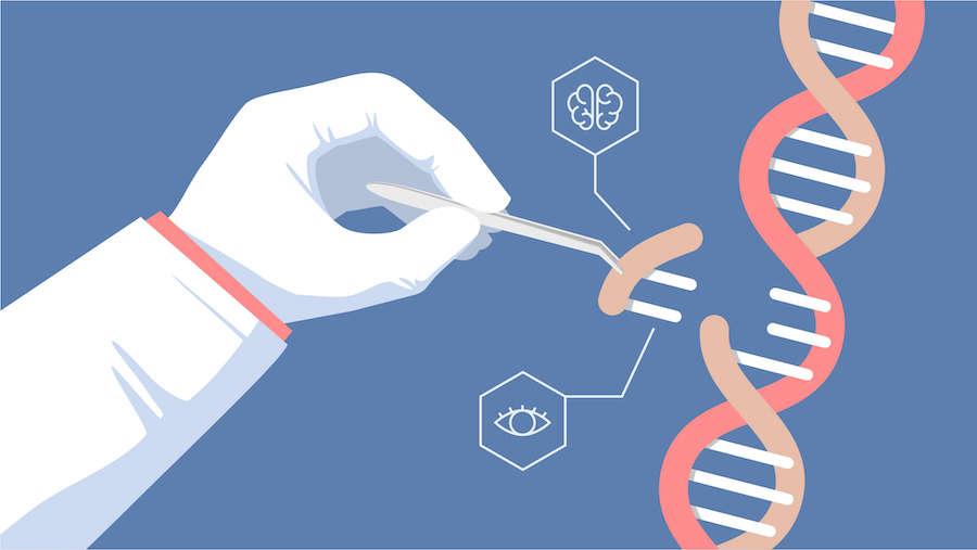 CRISPR edición génica