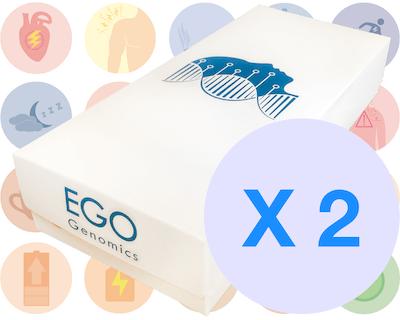 Paquetes de análisis genómico rendimiento X 2